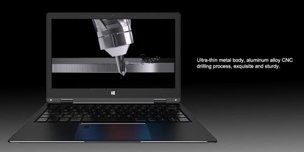 11.6 inch 2 in 1 convertible touch screen Netbook 8GB RAM 1920X1080 IPS Screen 192GB dual band wifi iTSOHOO 360 degree laptop 17