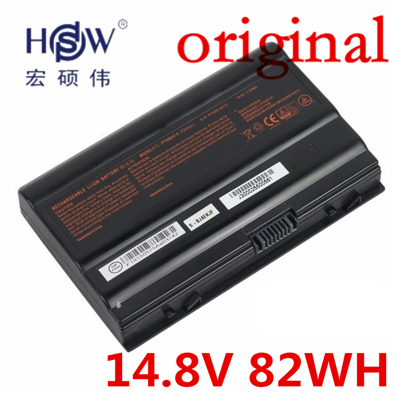 HSW 14.8V 82Wh P750BAT-8 Battery For Clevo P750ZM P751ZM P771ZM P770ZM P770ZM-G One K73-5N Geforce GTX 970M Terrans X599 XMG зубная нить donfeel морская свежесть uf 628