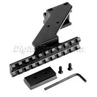Hoge Kwaliteit Universal Tactical Pistol Scope Mount Wever & Picatinny Rail Pistol Rail voor Toevoegen Scope Sight Zaklamp Lasers