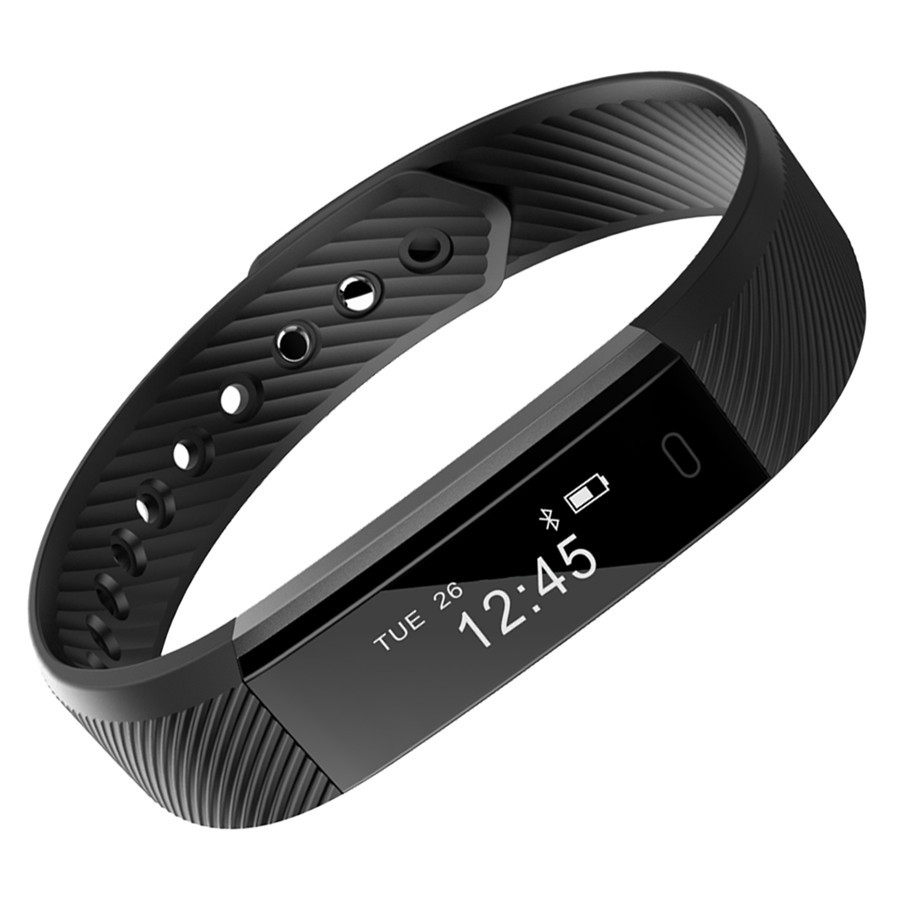 Detail Feedback Questions About Id115 Smart Bracelet Fitness Tracker Heart Rate Pedometer Vibration Wrist Watch For Iphone Xiaomi Android Pk Mi Band