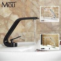 Brushed Nickel Finished Soild Brass Vessel Sink Faucet Modern Bathroom Basin Water Tap Dual Control Mixer MLA925N