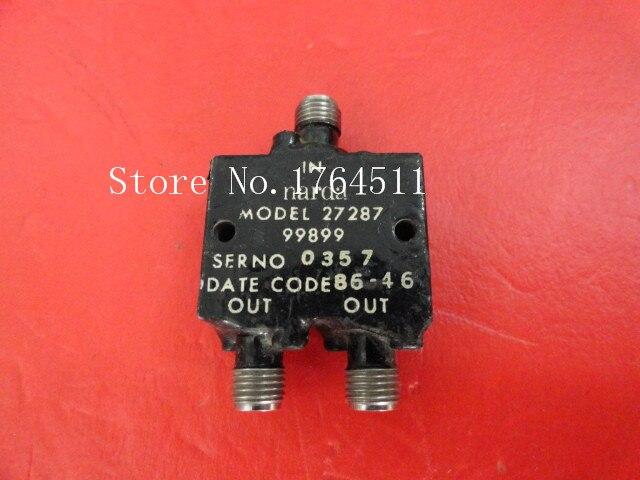 [BELLA] Supply Narda 27287 5-14GHz RF Coaxial Power Divider SMA A Two