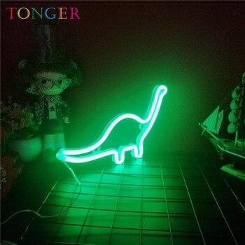 LED dinosaur