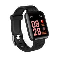116Plus Smart Bracelet Blood Pressure Measurement Waterproof Fitness Tracker Watch Heart Rate Monitor Pedometer Smart Band Wom 116plus smart bracelet waterproof fitness tracker watch heart rate blood pressure monitor pedometer smart band women men