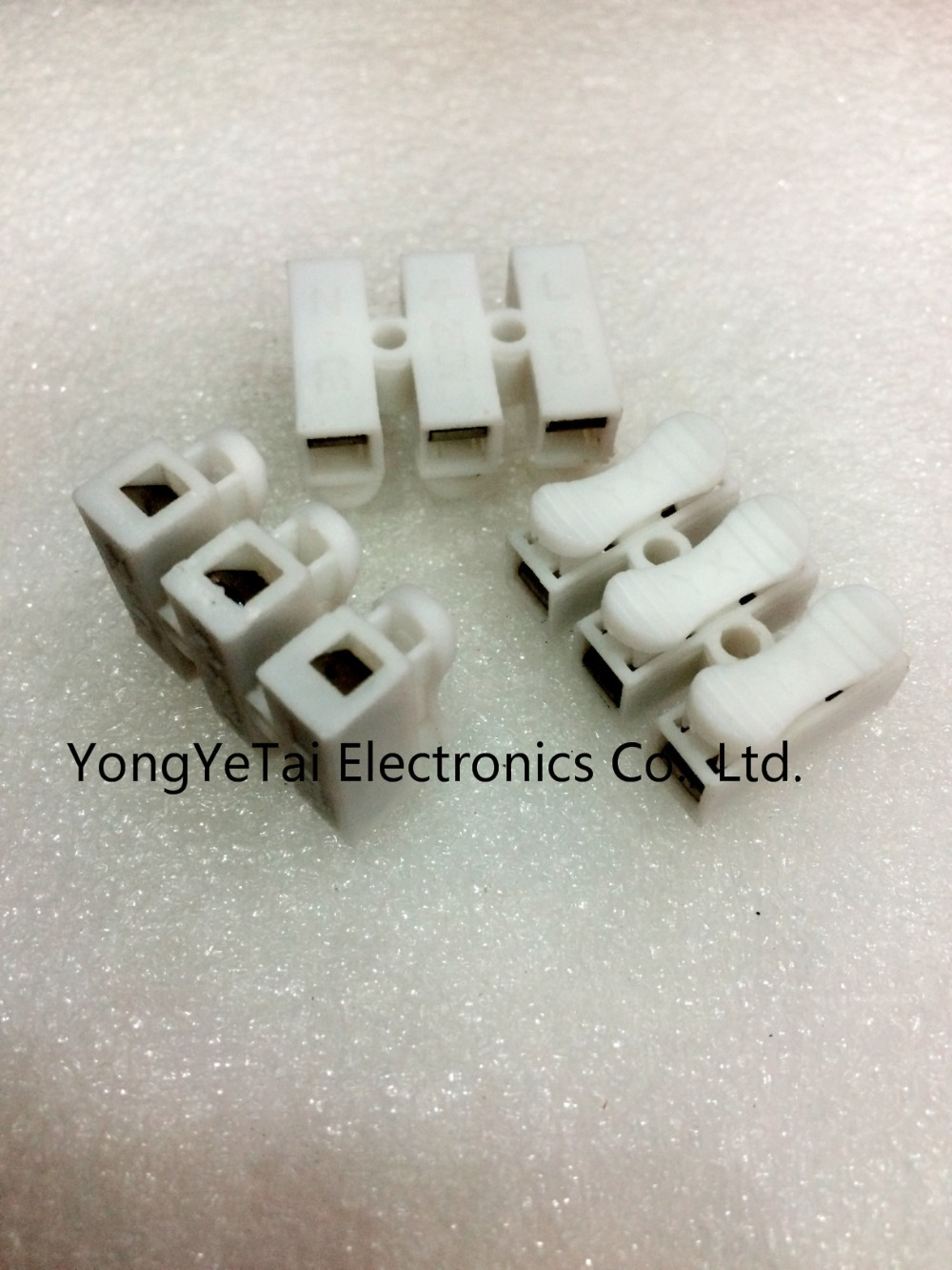 Quick connect terminal CH 3 wire connector terminal connector row ...