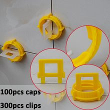Tools - Tool Parts - Tile Leveling System Spacer For The Flooring- Make The Floor And  Tile Level And Spacer Tool-include 100Caps 300straps =ZF-Y100