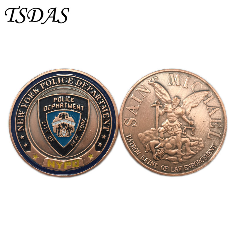 New York State Police 100th Anniversary Centennial Challenge Coin NYSP not NYPD