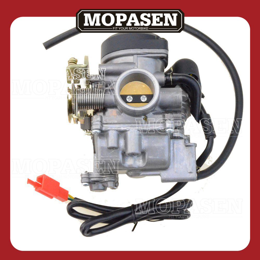 Motorcycle Accessories PD27 27mm Carburetor for GY6 200CC 136 Engine Scooter Moped Motorbike Parts promax driven wheel block for gy6 150cc scooters atvs go karts moped quads 4 wheeler dune buggys