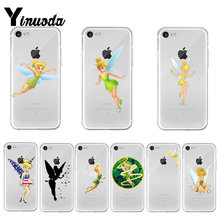 Yinuoda Peter Pan Wendy Tinkerbell Lucu Tinker Bell Populer Ponsel Case untuk Apple Iphone 8 7 6 6S PLUS X XS Max 5 5S SE XR Cover(China)