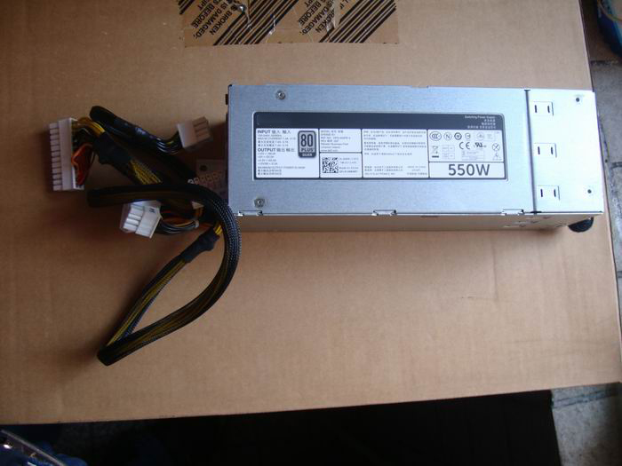 original T420 R520 Server Power Supply 96R8Y DH550E S1 F550E S0 550W tested well