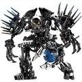Sistema del bloque compatible con lego Hero Factory Nebula Von demonio 3D de construcción de ladrillo pasatiempos educativo juguetes para los niños