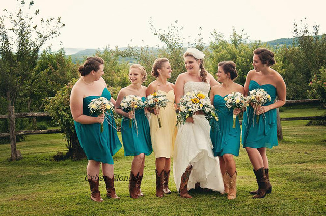 Country style dresses for wedding guests
