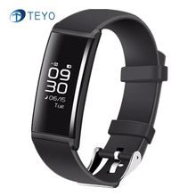 Teyo Смарт-Группы X9 Артериального Давления Фитнес Tracker Heart Rate Monitor Уведомление Вызова Напоминание Водонепроницаемый Android iOS