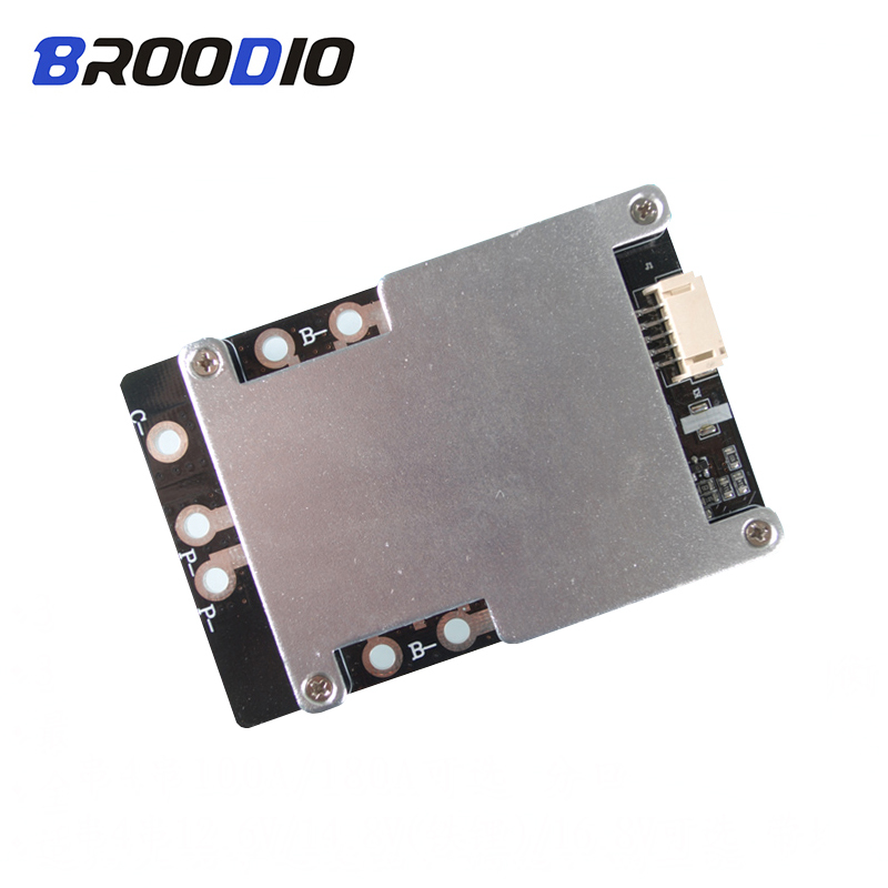 <font><b>4S</b></font> <font><b>BMS</b></font> 120A <font><b>150A</b></font> 160A 200A 380A 18650 Iron lithium Battery protection Equalizer board 3.2V polymer lifepo4 <font><b>bms</b></font> PCB With balanced image