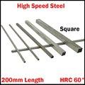 1 шт. 60*60*200 60x60x200 HRC60 HSS квадратная металлообрабатывающая Расточная планка для резки токарного станка