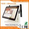 15 인치 용량 성 터치 스크린 lcd 모니터 레스토랑 pos 시스템 듀얼 스크린 pos 기계