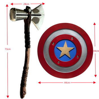 Thor Hammer Axe Stormbreaker captain shield vengers War captain america shield Weapons tool image