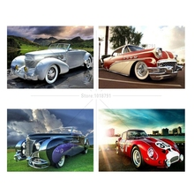 Home Kit Chinese Cross Stitch Car Diamond mosaic embroidery Painting Rhinestones 5d Beaded Embroidery