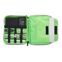 2017 New Product 1pcs Digital Travel Organizer Bags Simple High Quality Elastic Cotton Sundries Portable Storage