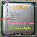 Lntel Xeon L5420 2.5 ГГц/12 М/1333 МГц/CPU равна LGA775 Core 2 Quad Q9300 ПРОЦЕССОР, работает на LGA775 платы нет необходимости адаптер