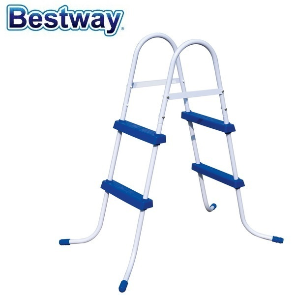 """Europe-Style 58332 Bestway 1.32m Safety Pool Ladder 52"""" Specially Designed Ladder for AGP Height less than 132cm Pool Stairs"""