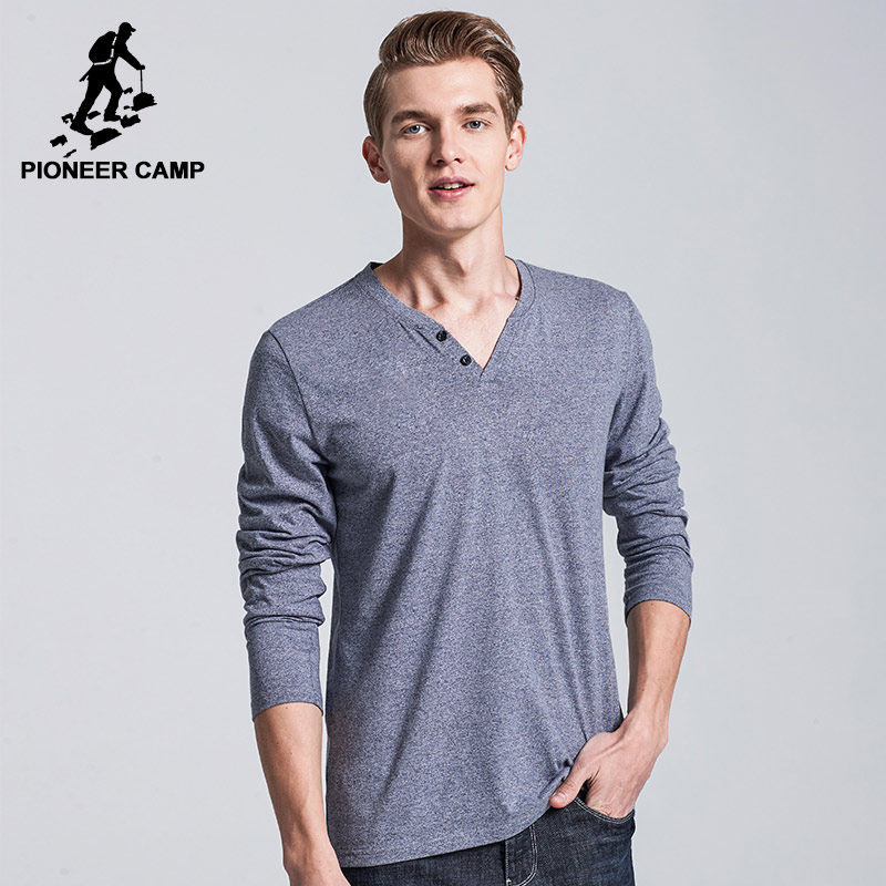Pioneer Camp Free Shipping 2017 New Fashion Mens Tshirts