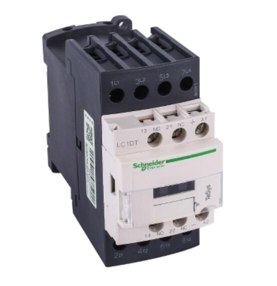 LC1DT32ED LC1DT32EDC TeSys D contactor - 4P(4 NO) - <font><b>AC</b></font>-1 - <= 440 <font><b>V</b></font> <font><b>32</b></font> A - 48 <font><b>V</b></font> <font><b>DC</b></font> standard coil image