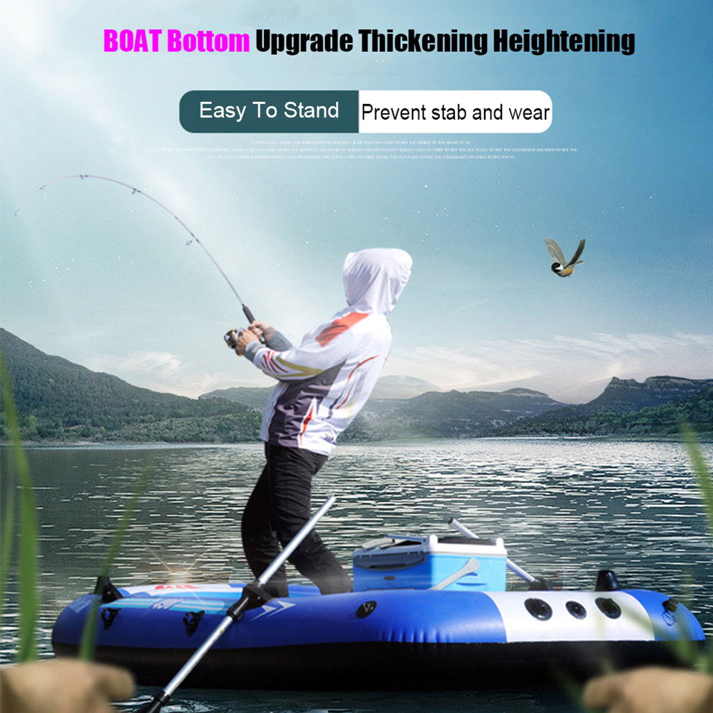 Rubber Boat Kit PVC Life Jacket Two Ways Electric Pump Air Pump Paddles Inflatable Fishing Drifting Rescue Raft Boat rowing boats rubber boat kit pvc inflatable fishing drifting rescue raft boat life jacket two way electric pump air pump paddles