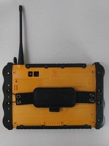 """Image 4 - Китай прочный промышленный водонепроницаемый планшетный телефон PC UHF VHF PTT радио 7 """"1920x1200 Dual Sim Android 5,1 пылезащитный GNSS GPS грузовики"""