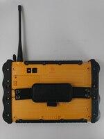"vhf uhf PC טלפון Tablet Waterproof סין מוקשח תעשייתי UHF VHF PTT רדיו 7"" 1920x1200 Dual סים אנדרואיד 6.0 מכסים נגד אבק GNSS משאיות GPS (4)"