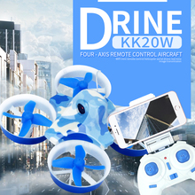 Flytec KK2DW RC Selfie Drone 2.4G 3D Foldable Flying Drone with 0.3MP WIFI FPV Camera mini drone quadcopter Rc helicopter