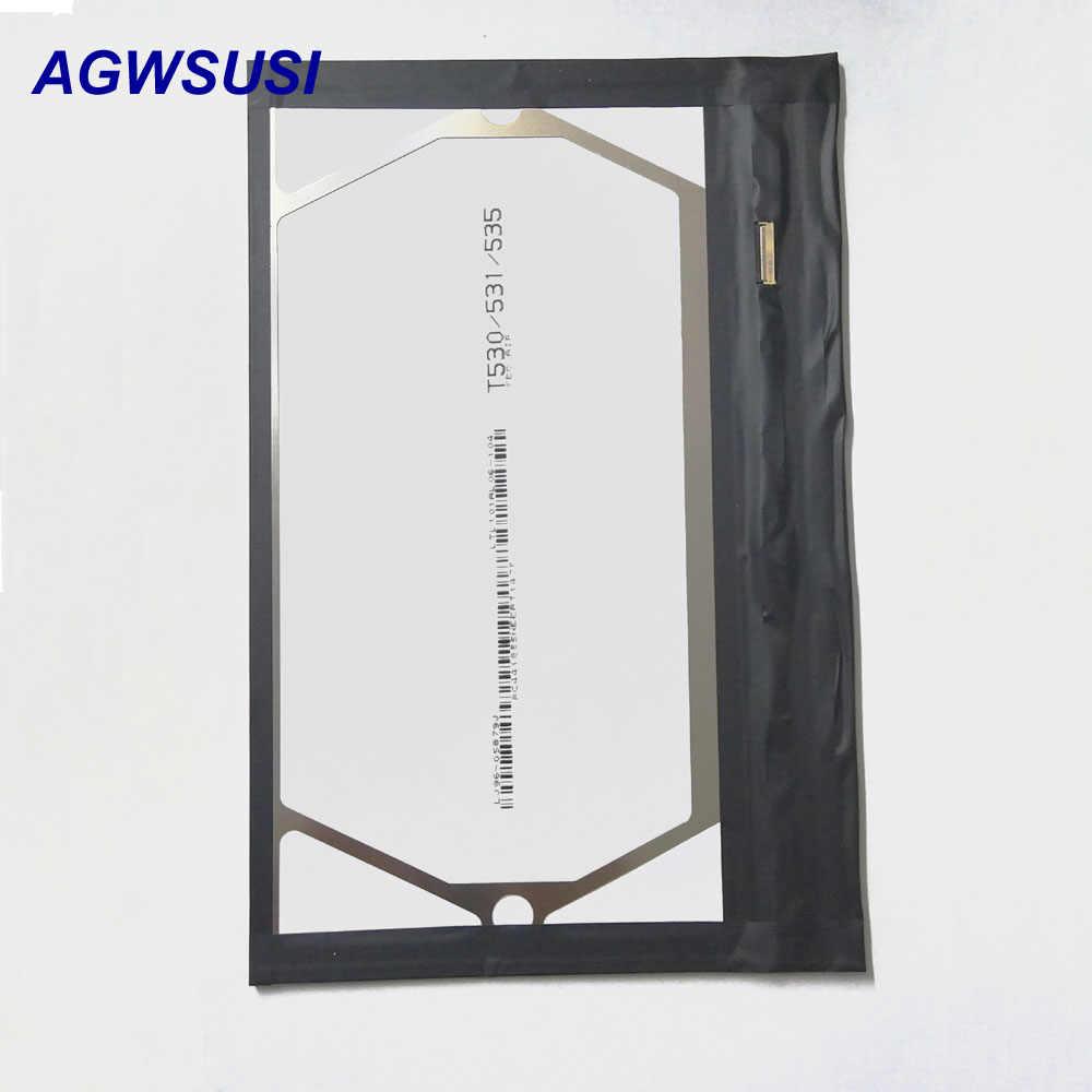 شاشة الكريستال السائل لسامسونج P5200 T530 شاشة لوحة لسامسونج غالاكسي تبويب 3 10.1 P5210 P5100 P5110 P7500 P7510 T530 T531 T535