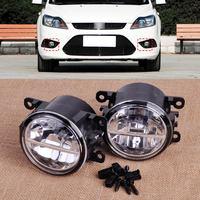 CITALL 4F9Z 15200 AA 2pcs Right & Left LED Fog Light Lamp for Ford Focus Honda CR V Nissan Sentra Subaru Outback Suzuki Swift