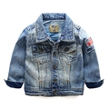 Boys Denim Jacket Boys spring coat children's clothing 2017