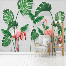 Factory direct Nordic small fresh banana turtle back leaf living room, bedroom, sofa, TV background wall