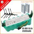 7 piezas Ni-MH 14,4 mAh 3500 V para panda X500 de la batería para Ecovacs espejo CR120 aspiradora Dibea X500 x580 X600 batería