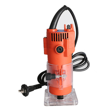 500w-680W Electric Laminate Edge Trimmer Mini Wood Router 6.35mm Collet Carving Machine Carpentry Woodworking Power Tools стоимость