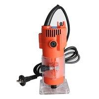 500w 680W Elektrische Laminat Rand Trimmer Mini Holz Router 6 35mm Collet Carving Maschine Zimmerei Holzbearbeitung Power werkzeuge|Elektrische Heckenscheren|Werkzeug -