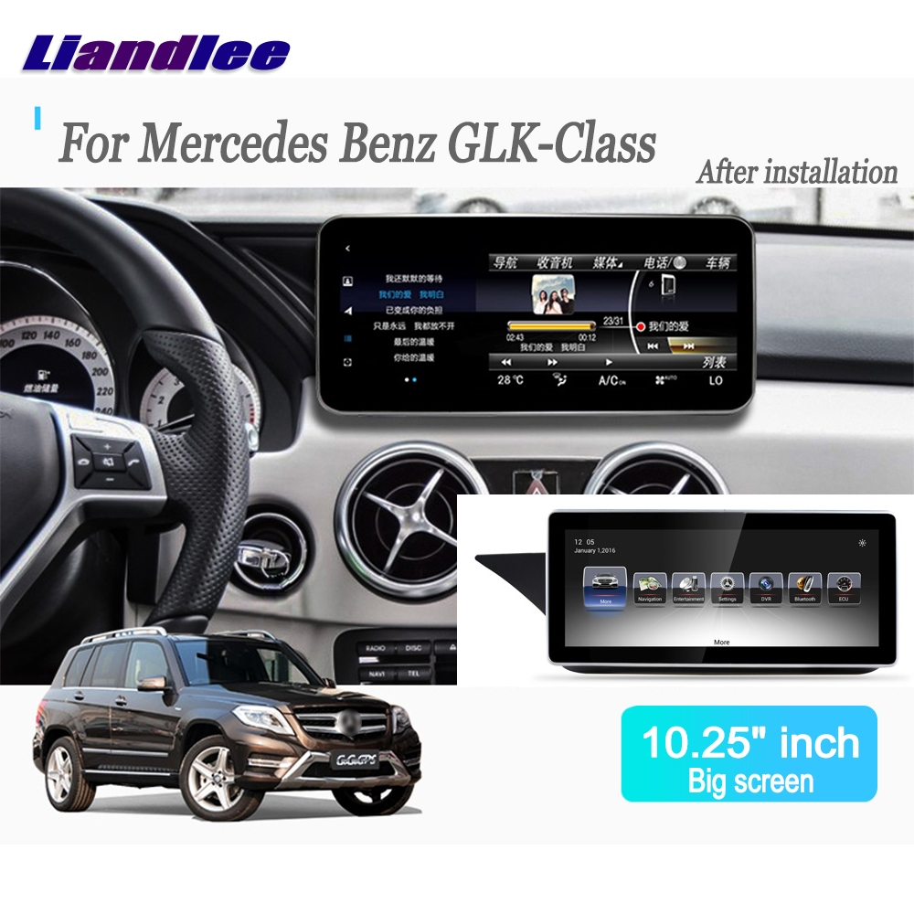 Liandlee For Mercedes Benz GLK class X204 2012~2015 Android Car Radio Player GPS Navi Navigation Maps Camera OBD TV Multimedia