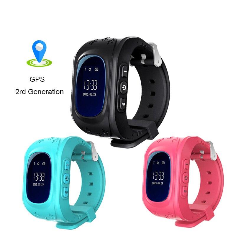 Mode Intelligent Montres Q50 passometer enfants montres smart bébé montre q50 avec GPS deuxième génération puce SOS Appel Location Finder