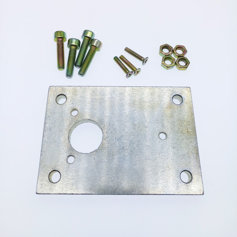 Flat Pedestal bracket of linear actuator Base Mounting Plate Aluminium alloyFlat Pedestal bracket of linear actuator Base Mounting Plate Aluminium alloy
