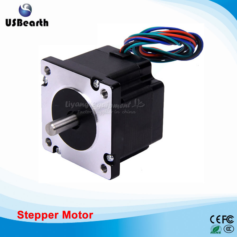 CNC Parts Stepping Motor 2 Phases 4 Lines 60 Torsion 1.1N.m/1.76N.m/2.2N.m/3.1N.m/3.6N.m for DIY CNC Router