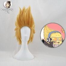 My Hero Academia Mirio Toogata Golden Blonde Wig Cosplay Boku no Academia Halloween Costume Synthetic Hair Wigs + Wig Cap цена 2017