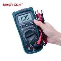 MASTECH MS8260E LCR Multímetro Digital Medidor de AC DC Corriente Tensión Tester w/test hfe y LCD Backlight Meter Multimetro