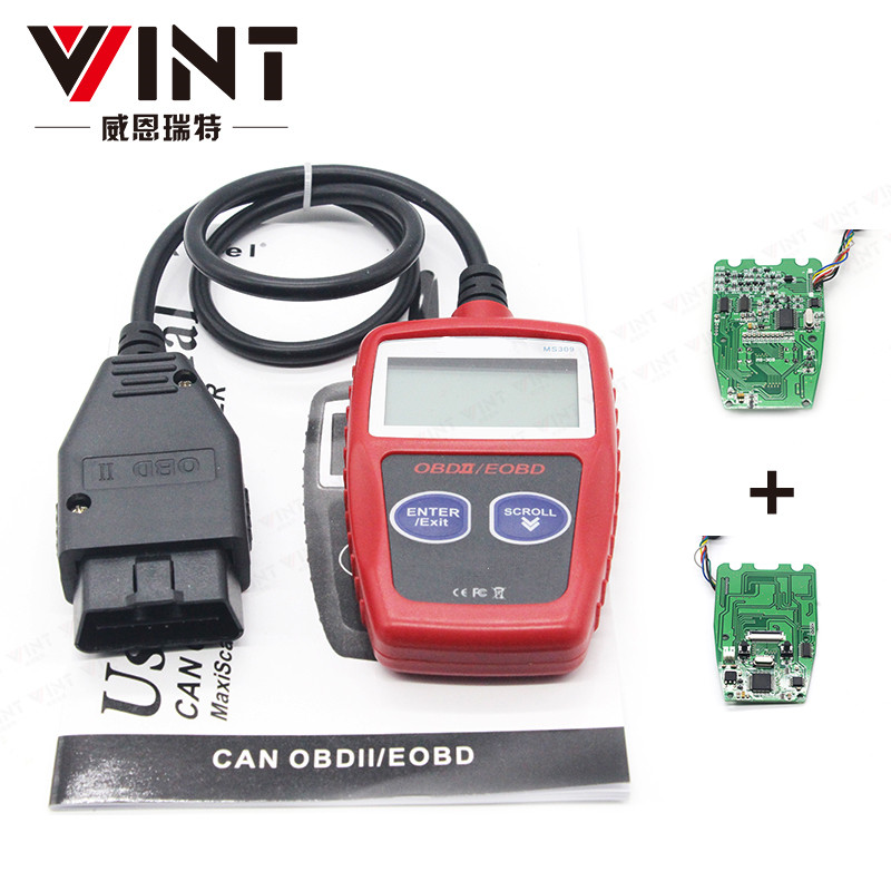 VINTscan MS309 Car Code Reader Scan Diagnostic Tool Data Tester OBD2 OBDII EOBD Scanner