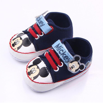 Newborn baby shoes girls cartoon soft sole comfortable toddler boys shoes baby moccasins baby first walker shoes F25 1
