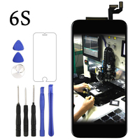 For Iphone 6 Plus 5 5 LCD Display Touch Screen Digitizer Home Button Flex Cable Front