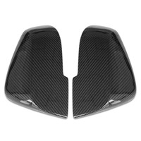 Free shipment Carbon Fiber Mirror Cover for BMW X1 E84 F20 F22 F23 F30 F32 F36 F87 M2 2012 2017 Rearview Mirror Cover Cap