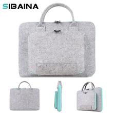 11 13 15 inch Women Men Wool Felt Sleeve Pouch Bag for Xiaomi Macbook Air 11 13 Pro 15 Retina Notebook Computer Sleeve HandBag
