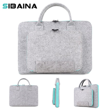 11 13 15inch Wool Felt Sleeve Pouch Laptop Bag for Samsung Xiaomi Macbook Air 11 13 Pro 15 Retina Notebook Laptop Sleeve HandBag